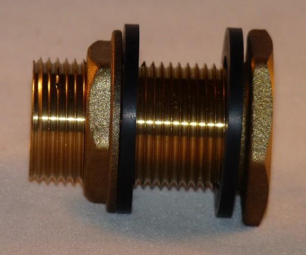 Tonnendurchführung/Tonnenanschluss 3/4 Zoll (26,4 mm)