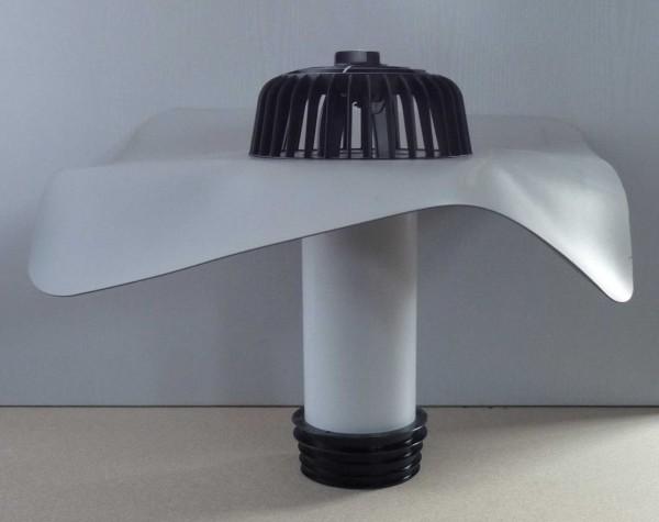 PVC-Dachablauf