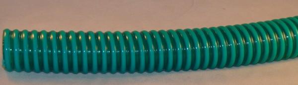Spiralschlauch 25 mm grün/transparent - Preis pro Meter