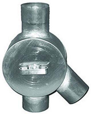 1 Zoll Verschlusskappe für Regenwassersammler mit Dichtung und Kette