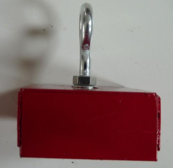 schwerer Magnet mit Befestigungsschraube