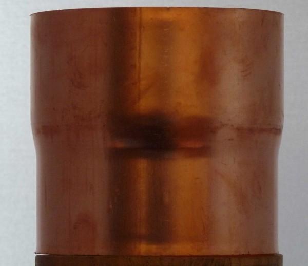 Rohrverbinder aus Titanzink oder Kupfer